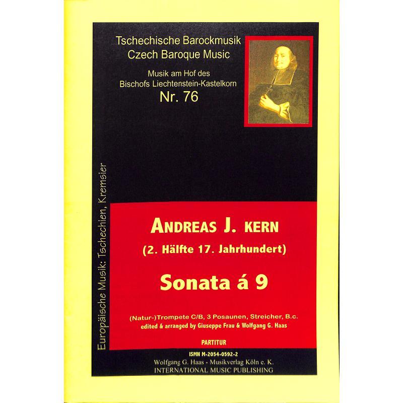 Titelbild für HAAS 0592-2 - SONATA A 9