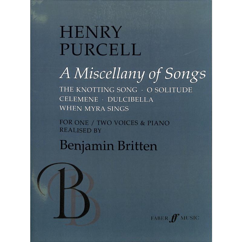 Titelbild für ISBN 0-571-51474-X - A MISCELLANY OF SONGS