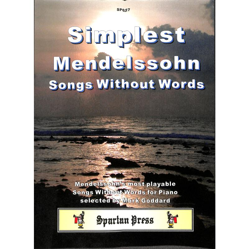 Titelbild für SPARTAN 627 - SIMPLEST MENDELSSOHN LIEDER OHN