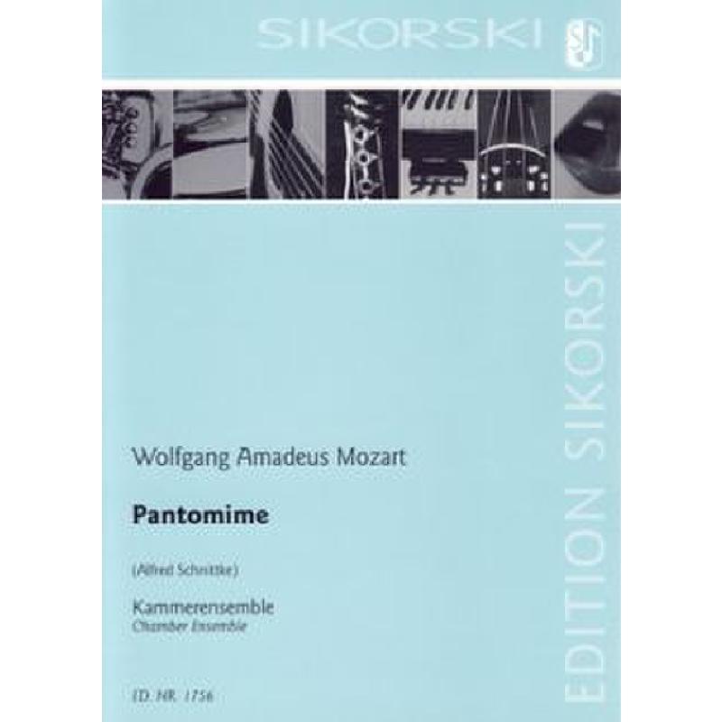 Titelbild für SIK 1756 - PANTOMIME NACH DEM FRAGMENT KV 446 (416D)