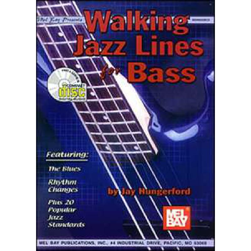 Titelbild für MB 99605BCD - WALKING JAZZ LINES FOR BASS