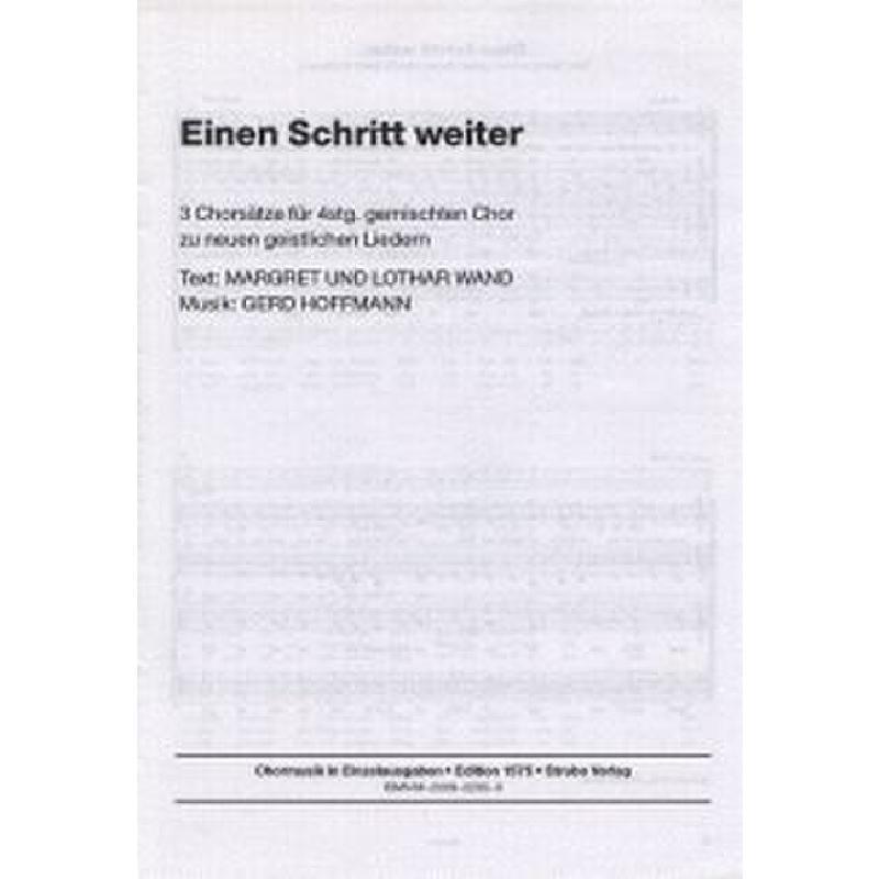 Titelbild für VS 1575 - EINEN SCHRITT WEITER