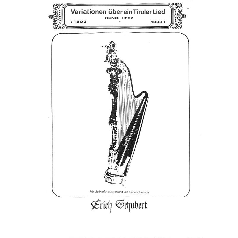 Titelbild für SCHUBERT 33 - VARIATIONEN UEBER EIN TIROLER LIED