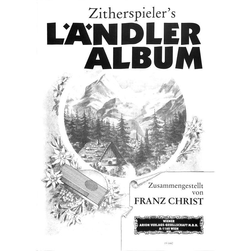 Titelbild für WEINB 1394-10 - ZITHERSPIELERS LAENDLER ALBUM