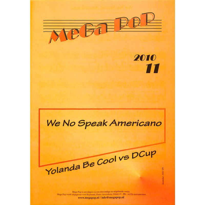 Titelbild für MDFK 1011-PI - We no speak americano