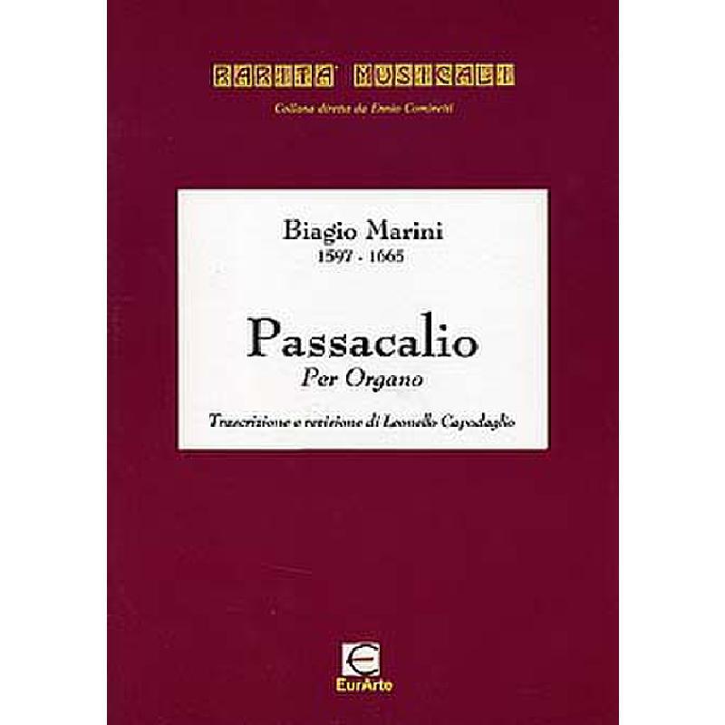 Titelbild für EAP 0240 - PASSACALIO