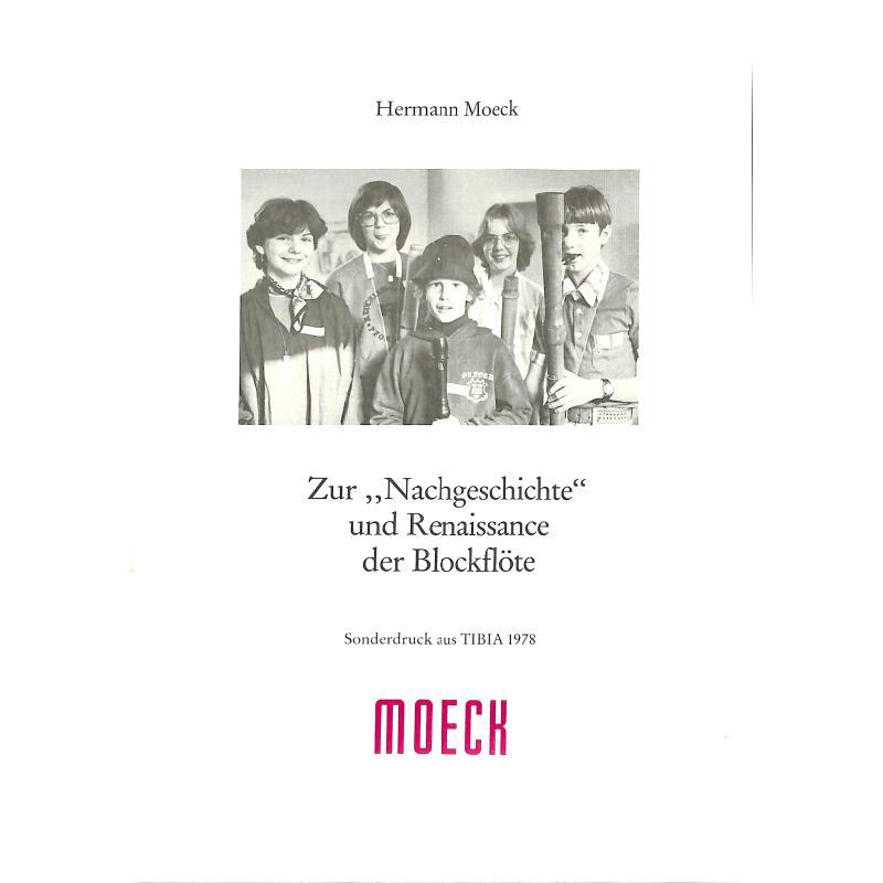 Titelbild für MOE 4021 - ZUR NACHGESCHICHTE UND RENAISSANCE DER BLOCKFLOETE