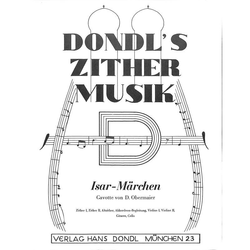 Titelbild für DONDL 2508-1 - ISAR MAERCHEN