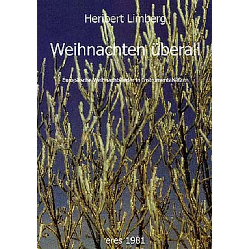 Titelbild für ERES 1981 - WEIHNACHTEN UEBERALL