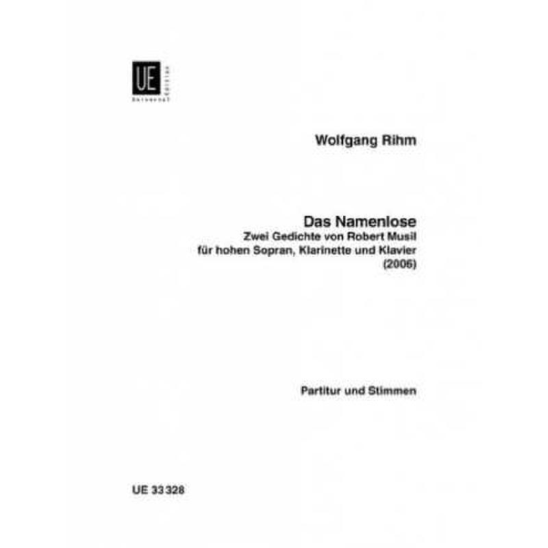 Produktinformationen zu DAS NAMENLOSE UE 33328