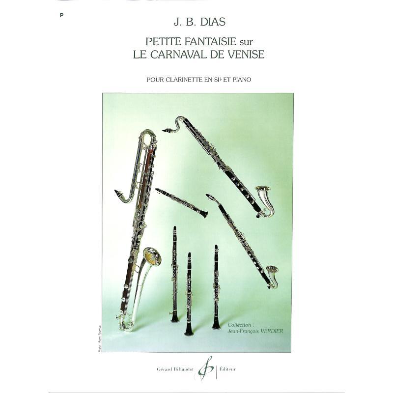 Titelbild für BILL 7206 - PETITE FANTASIE SUR LE CARNAVAL DE VENISE