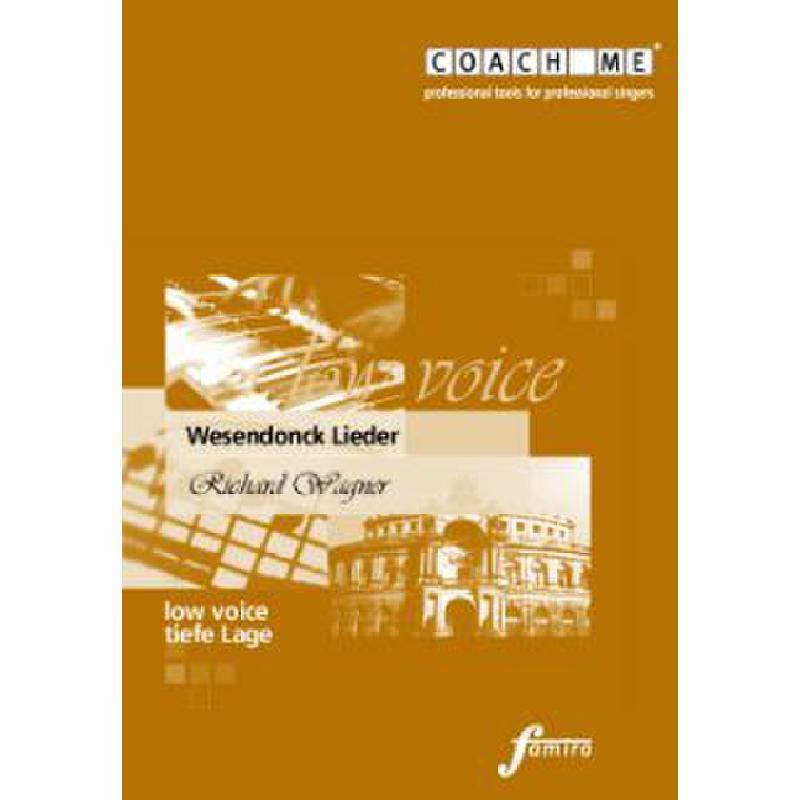 Titelbild für FMMS 65-18 - WESENDONCK LIEDER WWV 91A - TIE