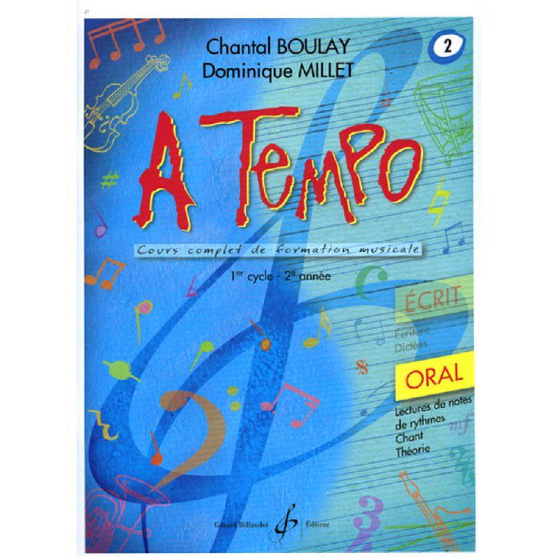 Titelbild für BILL 7475 - A TEMPO 2 - ORAL