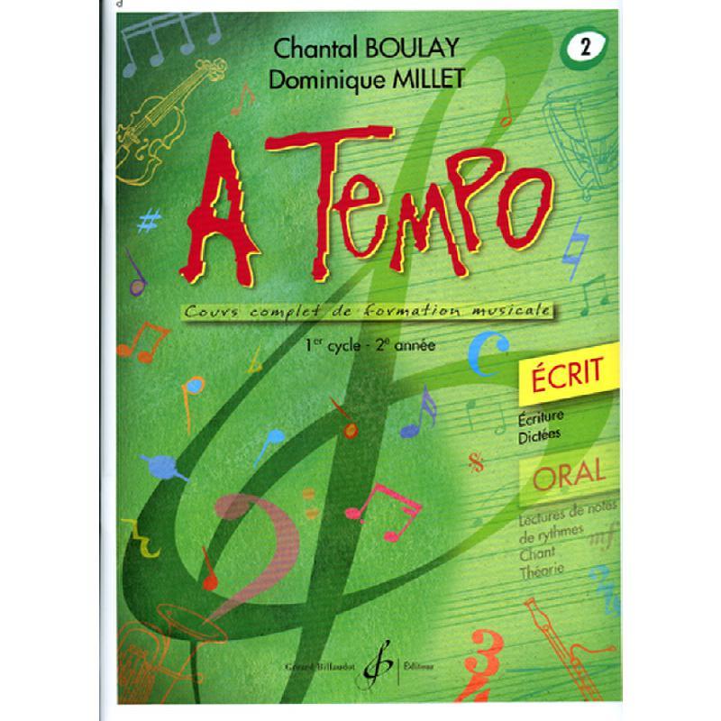 Titelbild für BILL 7479 - A TEMPO 2 - ECRIT