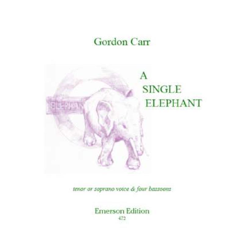 Titelbild für EMERSON 472 - A SINGLE ELEPHANT