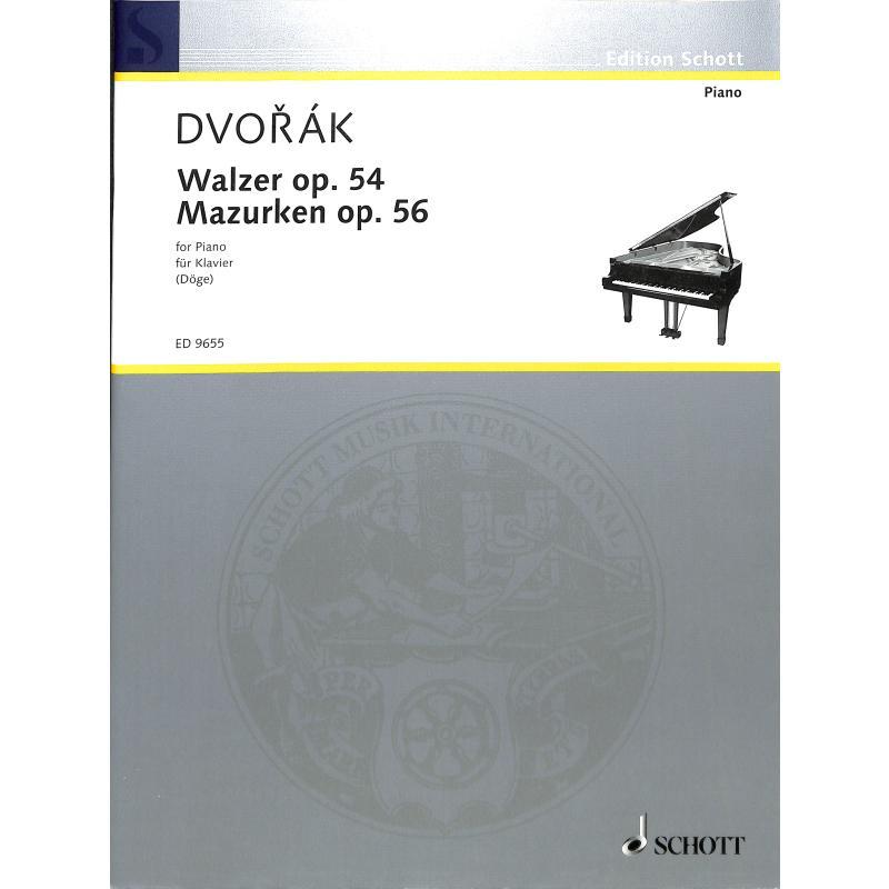Titelbild für ED 9655 - WALZER OP 54 MAZURKAS OP 56