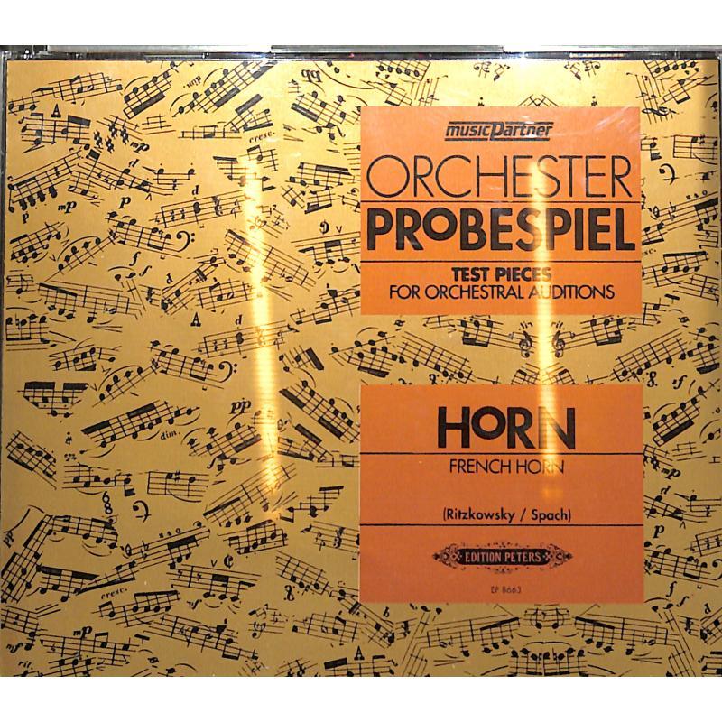 Titelbild für EPMP 8663 - ORCHESTER PROBESPIEL HRN