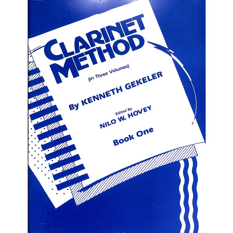 Titelbild für EL 00321 - CLARINET METHOD 1