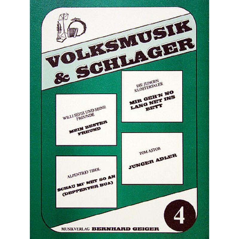 Titelbild für GEIGER -VS4 - VOLKSMUSIK + SCHLAGER 4