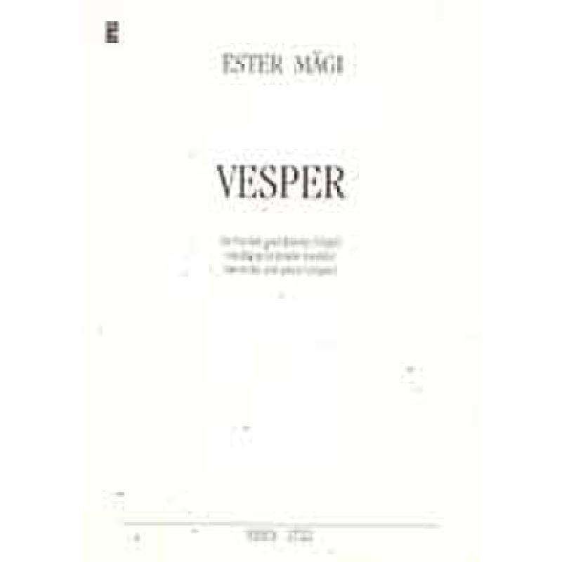 Titelbild für ERES 2722 - VESPER