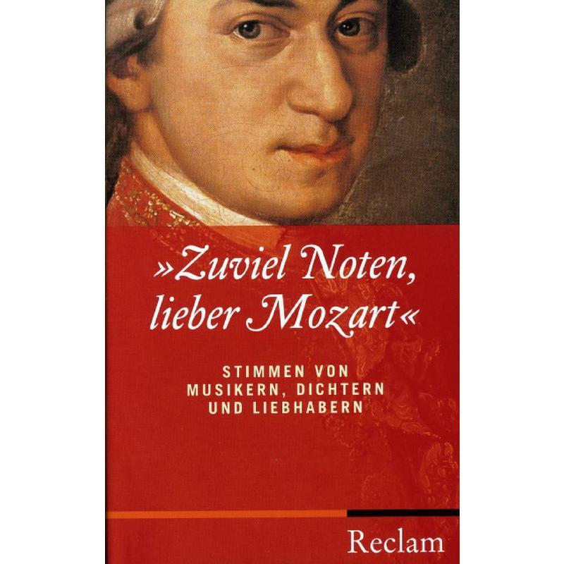 Titelbild für ISBN 3-15-010575-7 - ZUVIEL NOTEN LIEBER MOZART