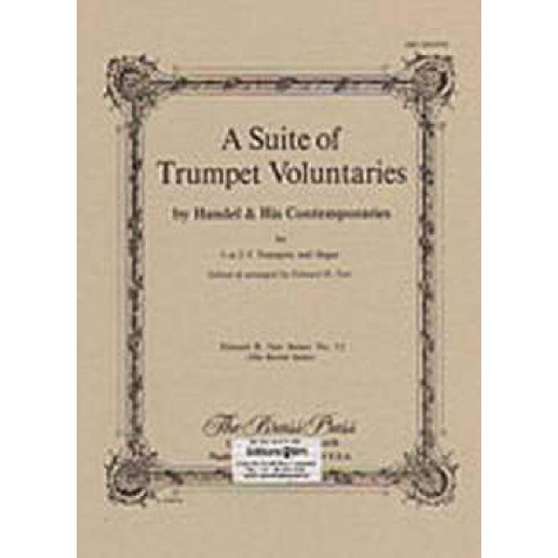 Titelbild für BIM -TP151 - A SUITE OF TRUMPET VOLUNTARIES