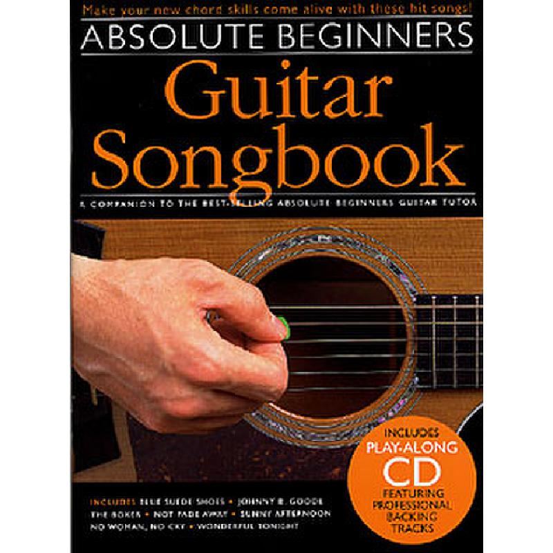 Titelbild für MSAM 963644 - ABSOLUTE BEGINNERS GUITAR SONGBOOK