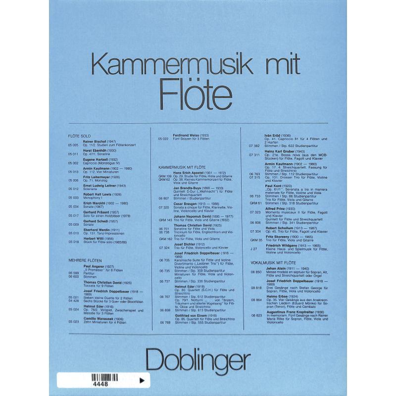 Notenbild für DO 05045 - VOM TOD UMFANGEN (1986)