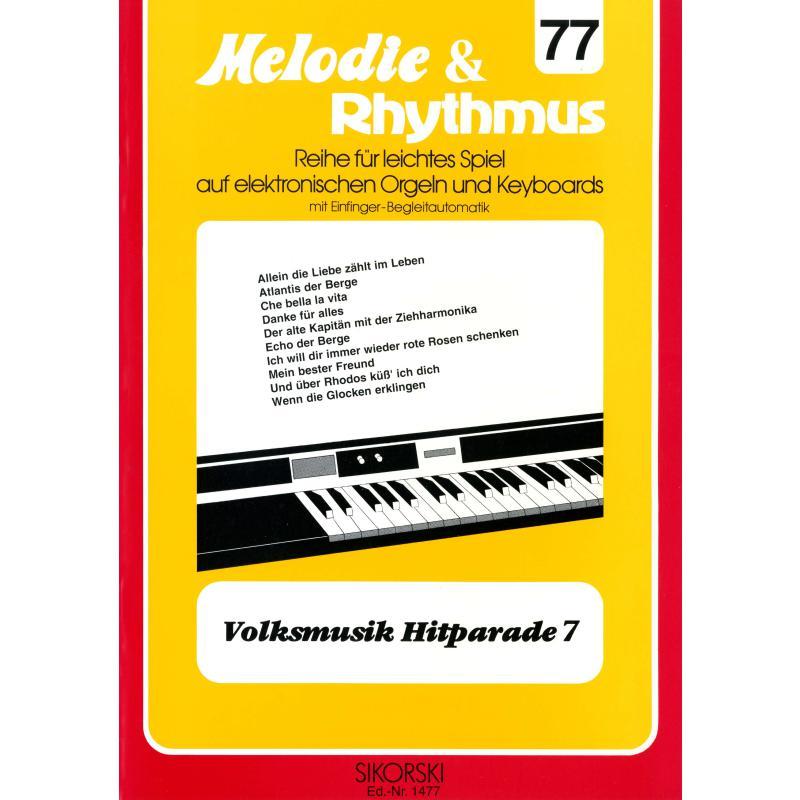 Titelbild für SIK 1477 - VOLKSMUSIK HITPARADE 7