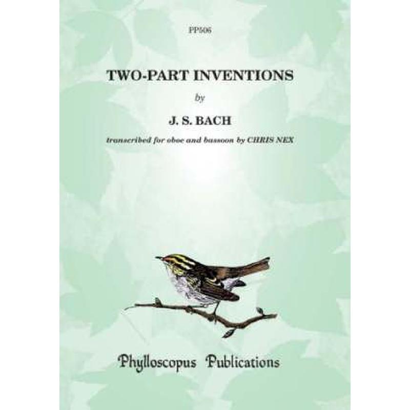 Titelbild für PHYLL -PP506 - ZWEISTIMMIGE INVENTIONEN