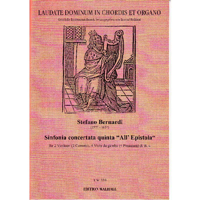 Titelbild für WALHALL 330 - SINFONIA QUINTA ALL' EPISTOLA