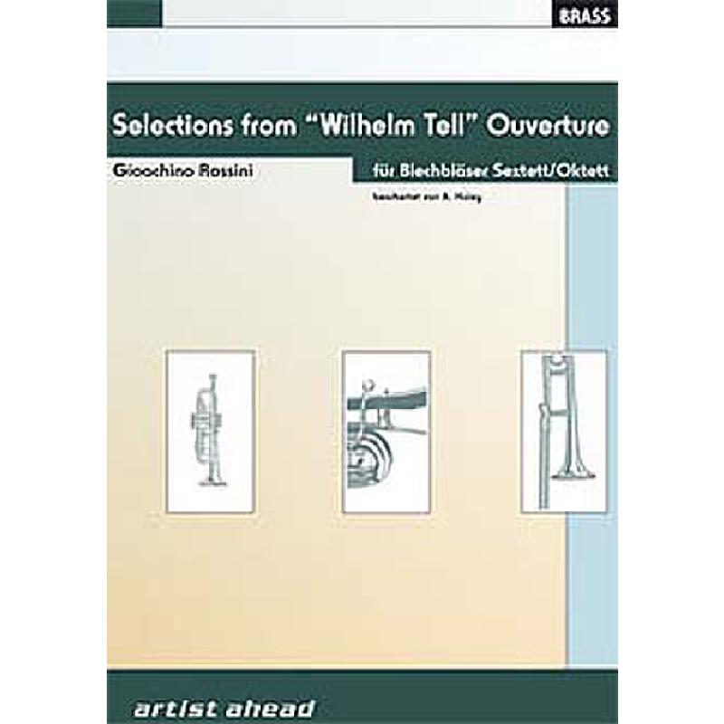 Titelbild für AA 1506-001 - OUVERTUERE WILHELM TELL - SELECTIONS