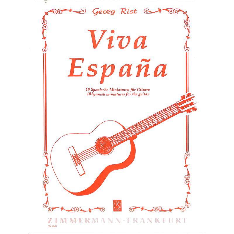 Titelbild für ZM 29870 - VIVA ESPANA