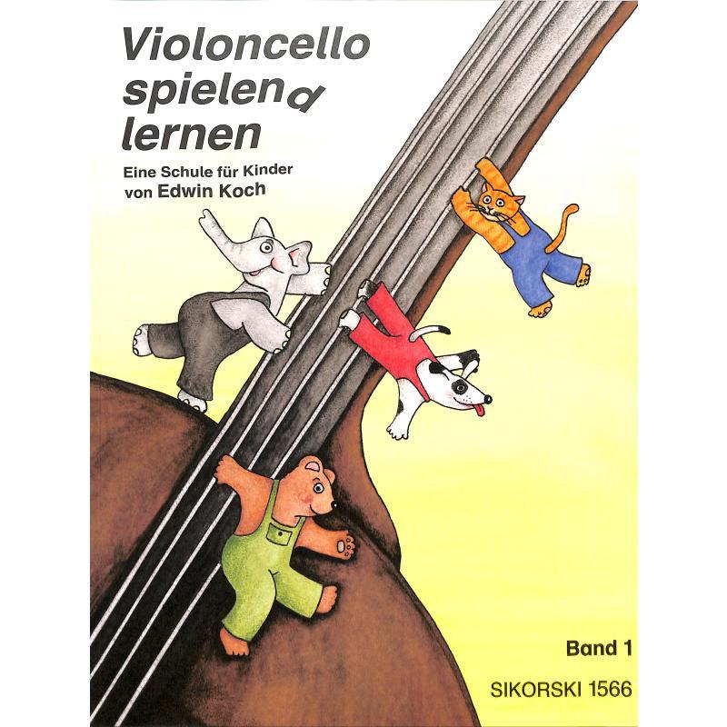 Titelbild für SIK 1566 - Violoncello spielen(d) lernen 1