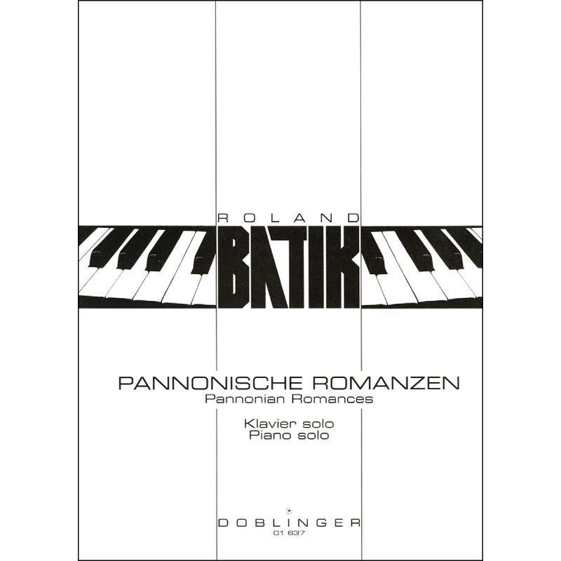Titelbild für DO 01637 - PANNONISCHE ROMANZEN