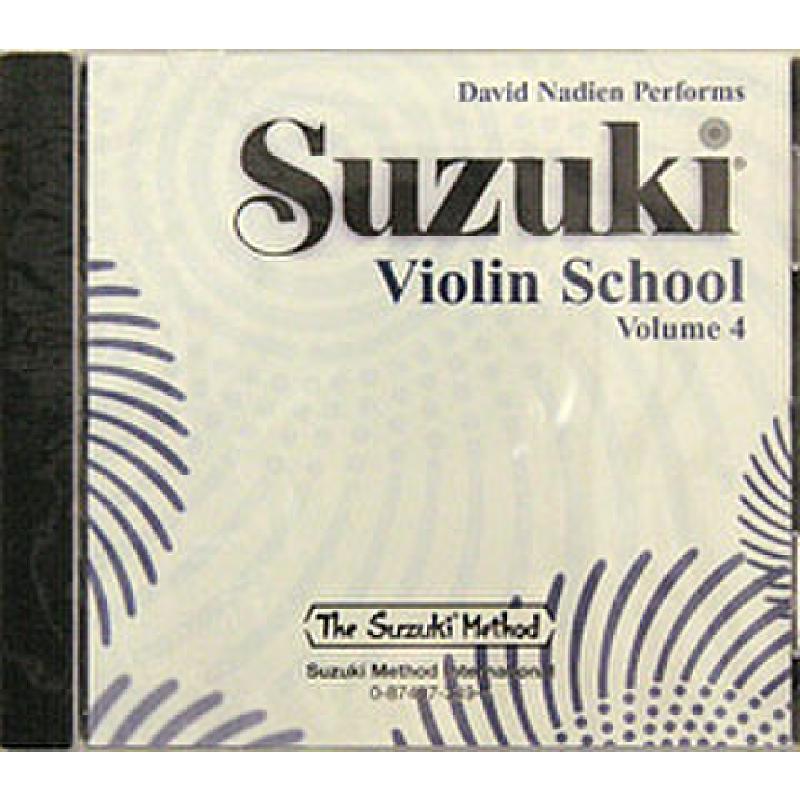 Titelbild für SBMT 349 - VIOLIN SCHOOL 4