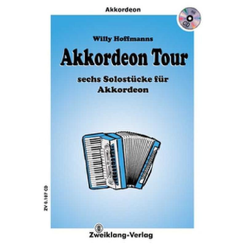 Titelbild für ZWEIKLANG 0107-CD - AKKORDEON TOUR