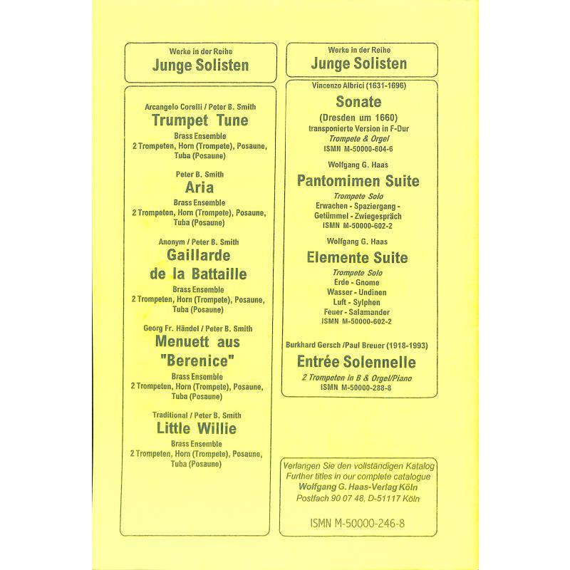 Notenbild für HAAS 246-8 - WACHET AUF RUFT UNS DIE STIMME BWV 140/4