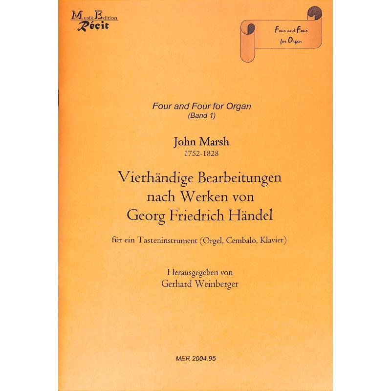 Titelbild für RECIT 2004-95 - VIERHAENDIGE BEARBEITUNGEN NACH WERKEN