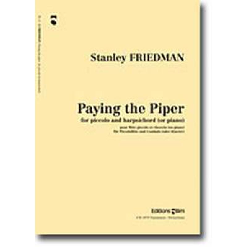 Titelbild für BIM -FL11 - PAYING THE PIPER (2003)