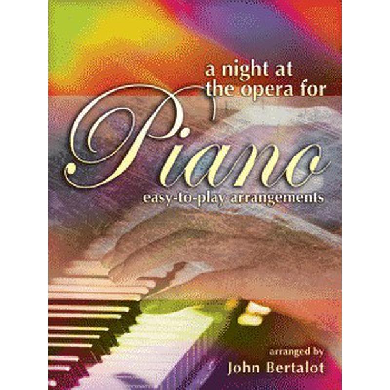 Titelbild für KM 3611840 - A NIGHT AT THE OPERA FOR PIANO