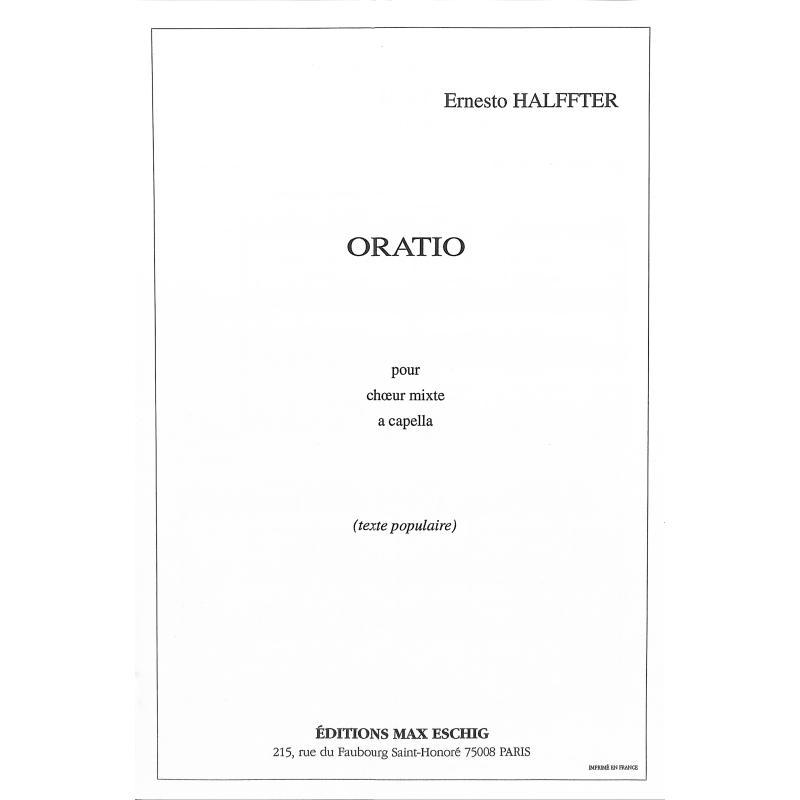 Titelbild für ME 8860 - ORATIO