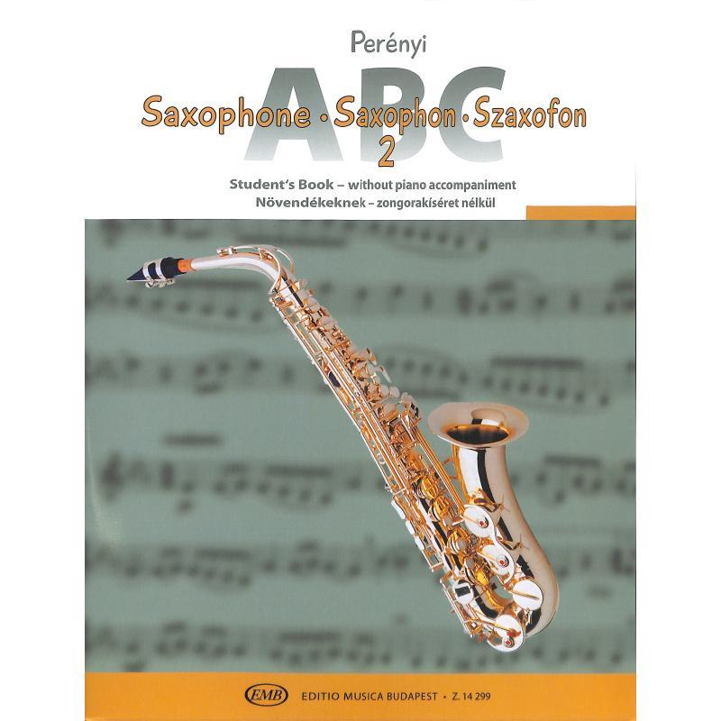 Titelbild für EMB 14299 - SAXOPHON ABC 2