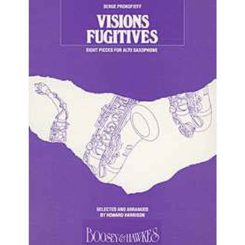 Titelbild für BH 2400060 - VISIONS FUGITIVES OP 22