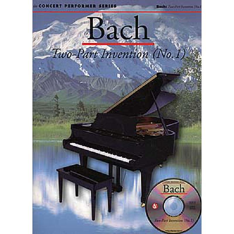 Titelbild für MSAM 948640 - ZWEISTIMMIGE INVENTION 1 C-DUR BWV 772