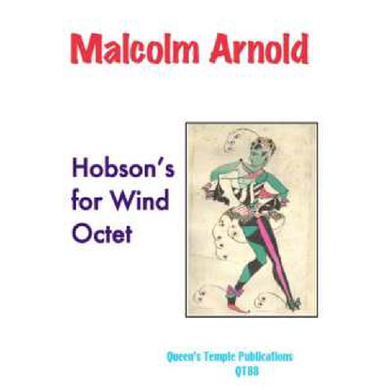 Titelbild für QT 88 - HOBSON'S FOR WIND OCTET