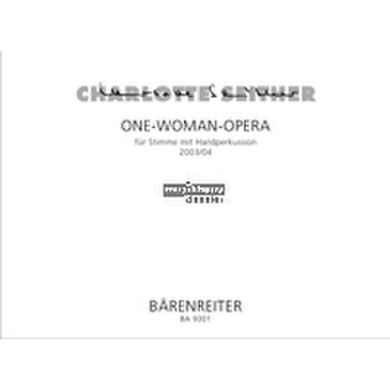 Titelbild für BA 9301 - ONE WOMAN OPERA