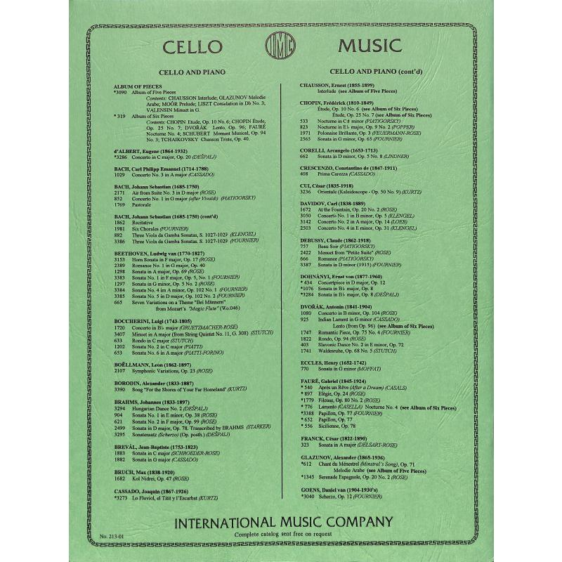 Notenbild für IMC 1820 - VITO (SPANISCHE TAENZE OP 54/5)