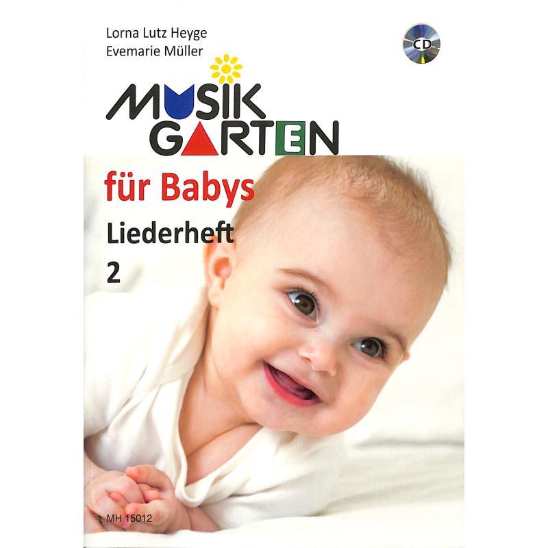 Titelbild für MHV 15012 - FUER BABYS - LIEDERHEFT 2