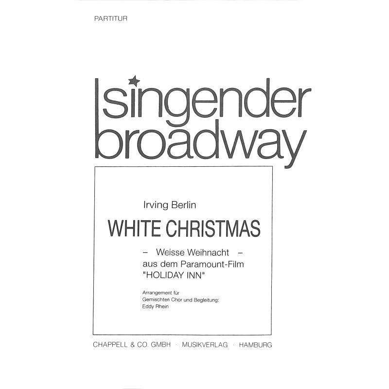 Titelbild für BOE -CHH0141G-KLAV - WHITE CHRISTMAS
